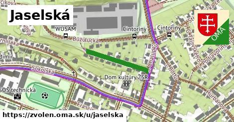ilustračný obrázok k Jaselská, Zvolen