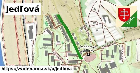 ilustrácia k Jedľová, Zvolen - 271m
