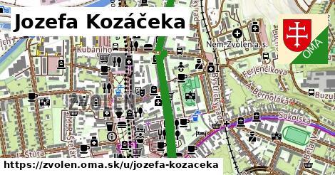 ilustračný obrázok k Jozefa Kozáčeka, Zvolen
