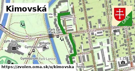 ilustračný obrázok k Kimovská, Zvolen