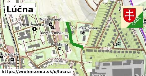 ilustrácia k Lúčna, Zvolen - 171m