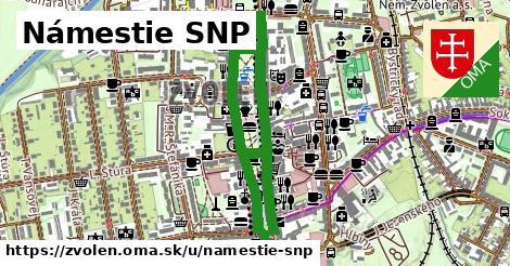 ilustrácia k Námestie SNP, Zvolen - 1,35km