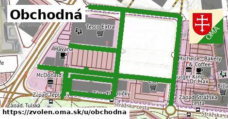 ilustrácia k Obchodná, Zvolen - 1,95km