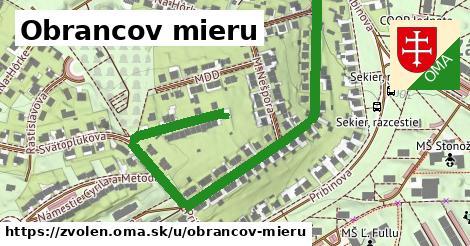 ilustrácia k Obrancov mieru, Zvolen - 0,83km