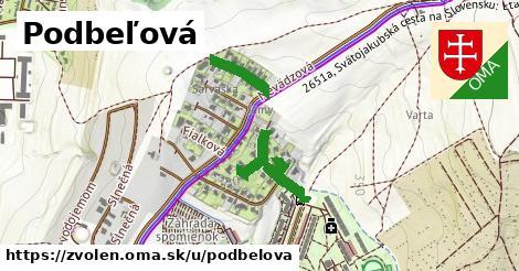 ilustrácia k Podbeľová, Zvolen - 361m