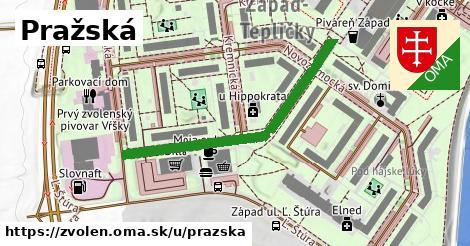 ilustrácia k Pražská, Zvolen - 415m