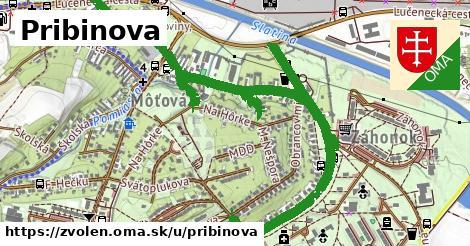 ilustrácia k Pribinova, Zvolen - 2,0km