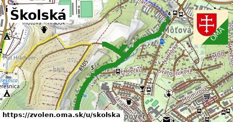 ilustrácia k Školská, Zvolen - 0,97km