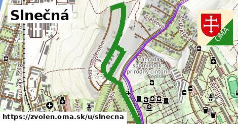 ilustrácia k Slnečná, Zvolen - 330m