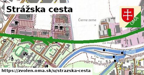 ilustračný obrázok k Strážska cesta, Zvolen