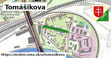 ilustrácia k Tomášikova, Zvolen - 178m