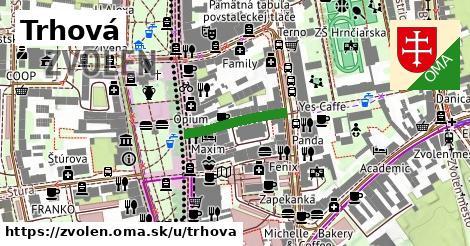ilustrácia k Trhová, Zvolen - 164m