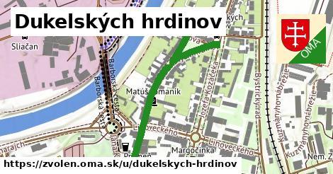 ilustrácia k Dukelských hrdinov, Zvolen - 456m