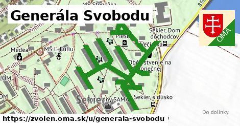 ilustrácia k Generála Svobodu, Zvolen - 1,18km