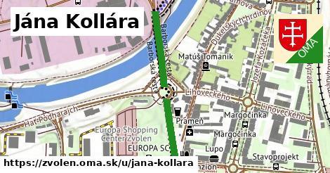ilustrácia k Jána Kollára, Zvolen - 315m