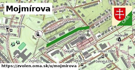 ilustrácia k Mojmírova, Zvolen - 258m