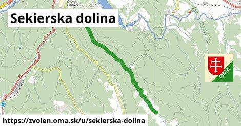 ilustrácia k Sekierska dolina, Zvolen - 5,3km