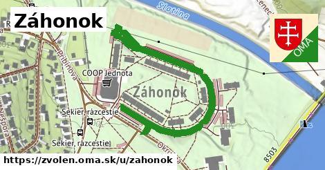 ilustrácia k Záhonok, Zvolen - 682m