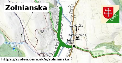ilustrácia k Zolnianska, Zvolen - 0,88km