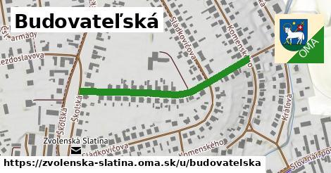 ilustrácia k Budovateľská, Zvolenská Slatina - 400m