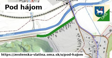 ilustrácia k Pod hájom, Zvolenská Slatina - 287m