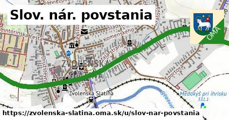 ilustrácia k Slov. nár. povstania, Zvolenská Slatina - 1,63km