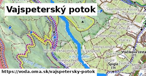ilustračný obrázok k Vajspeterský potok