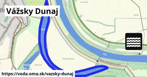 ilustračný obrázok k Vážsky Dunaj