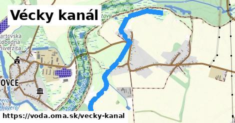 ilustračný obrázok k Vécky kanál
