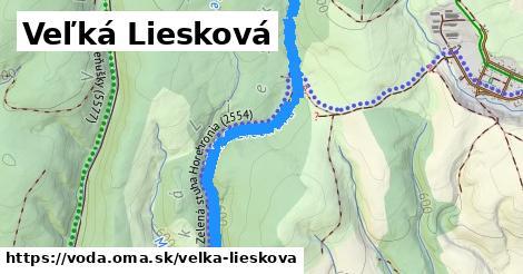 ilustračný obrázok k Veľká Liesková