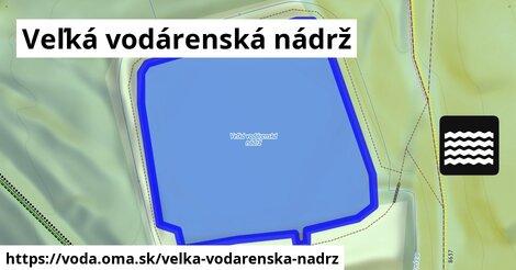 ilustračný obrázok k Veľká vodárenská nádrž