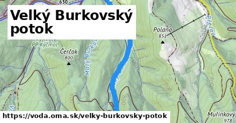 ilustračný obrázok k Velký Burkovský potok