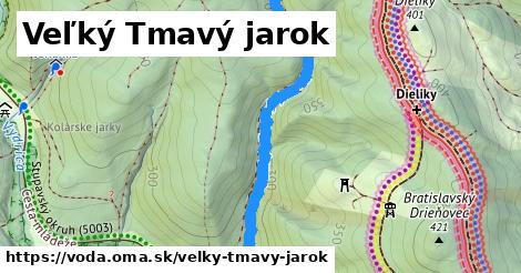 ilustračný obrázok k Veľký Tmavý jarok