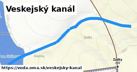 ilustračný obrázok k Veskejský kanál