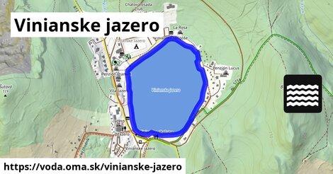 ilustračný obrázok k Vinianske jazero