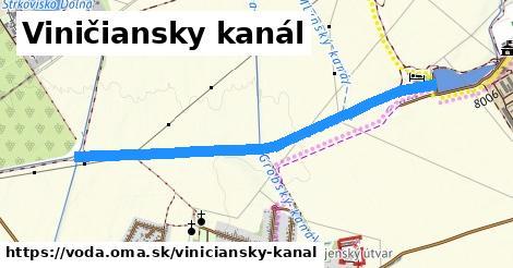 ilustračný obrázok k Viničiansky kanál