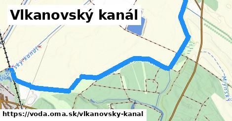ilustračný obrázok k Vlkanovský kanál