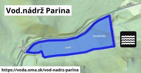 ilustračný obrázok k Vod.nádrž Parina