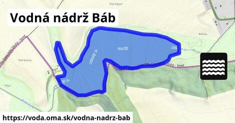 ilustračný obrázok k Vodná nádrž Báb