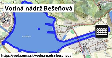 ilustračný obrázok k Vodná nádrž Bešeňová
