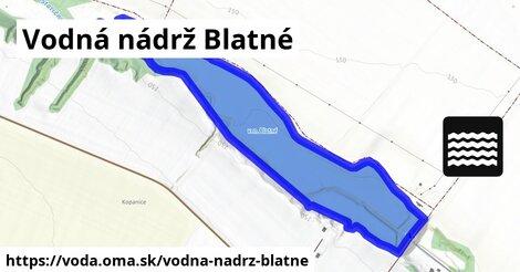 ilustračný obrázok k Vodná nádrž Blatné