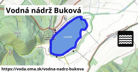 ilustračný obrázok k Vodná nádrž Buková