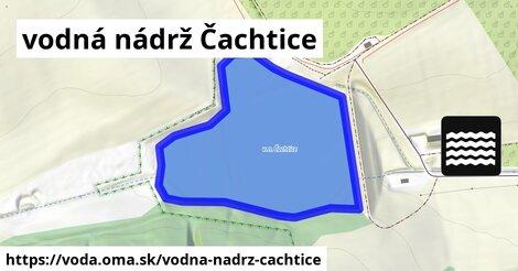 ilustračný obrázok k vodná nádrž Čachtice
