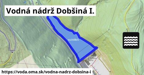 ilustračný obrázok k Vodná nádrž Dobšiná I.