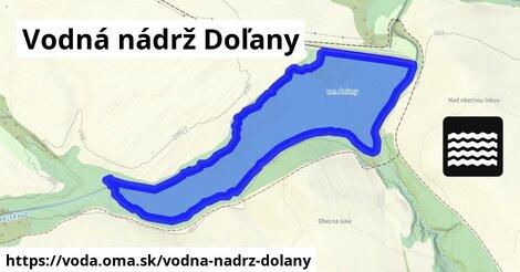 ilustračný obrázok k Vodná nádrž Doľany
