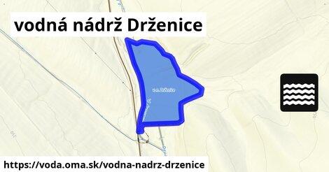 ilustračný obrázok k Vodná nádrž Drženice