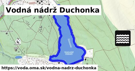 ilustračný obrázok k Vodná nádrž Duchonka