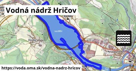 ilustračný obrázok k Vodná nádrž Hričov
