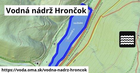 ilustračný obrázok k Vodná nádrž Hrončok