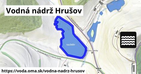 ilustračný obrázok k Vodná nádrž Hrušov